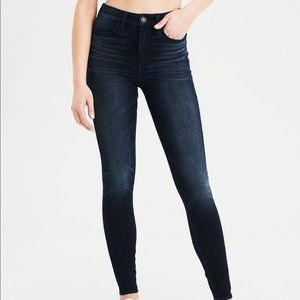NEW AmericanEagle Intensely Dark Dream Skinny Jean